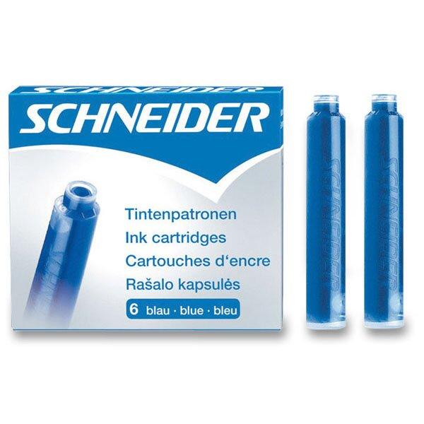 Inkoustové bombičky Schneider, 6 ks modré