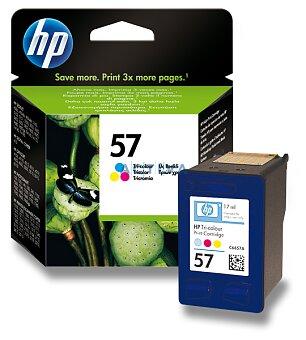 Obrázek produktu Cartridge HP C6657AE - color č. 57 (barevná) pro inkoustové tiskárny - color (barevná)