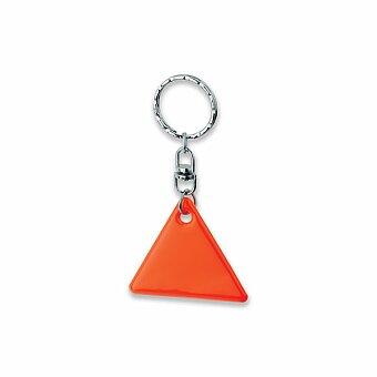 Obrázek produktu HOWIE - plastový přívěsek - reflexní, výběr barev - oranžová