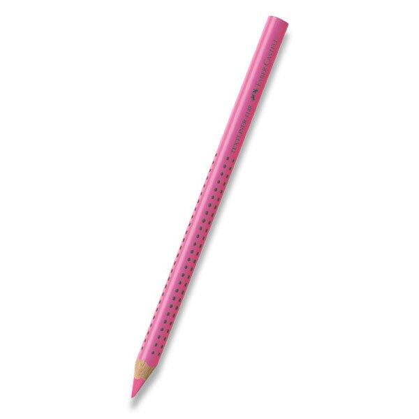 Pastelka Colour Grip Jumbo Neon růžová
