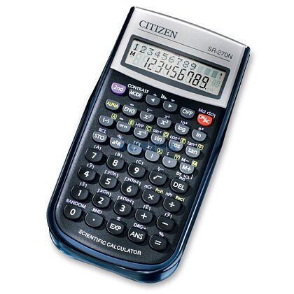 Obrázek produktu Citizen SR-270N - vědecký kalkulátor - černý