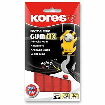 Obrázek produktu Oboustranně silně lepící guma Kores - 60 čtverečků