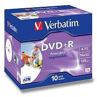 Zapisovatelné DVD+R Verbatim