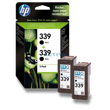 Obrázek produktu HP - 2x cartridge C8767EE, black č. 339 (černá) pro inkoustové tiskárny