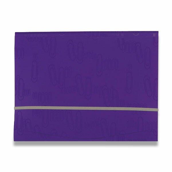 Spisové desky I Clip fialové