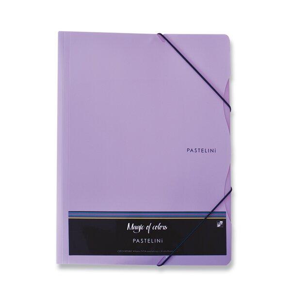 3chlopňové desky Pastelini fialové