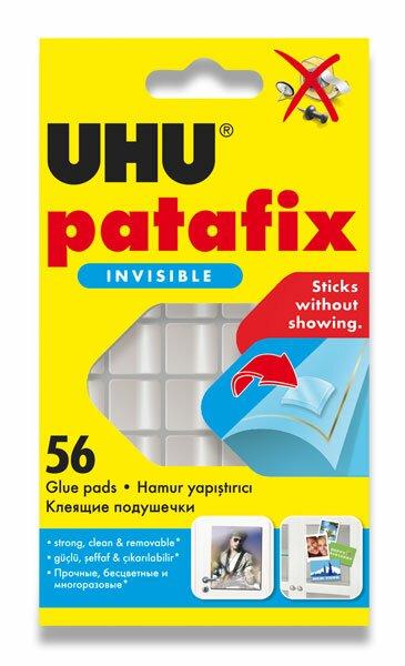 Montážní guma UHU Patafix Clear transparentní, 56 ks