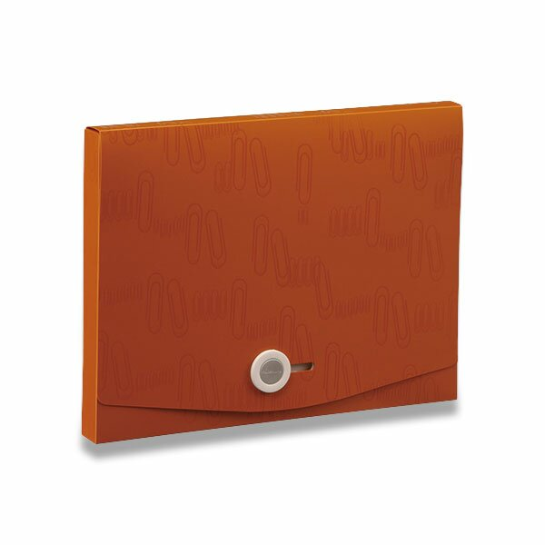 Box na dokumenty I Clip - A4 hnědý