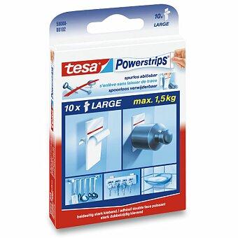 Obrázek produktu Oboustranně lepící proužky Tesa Powerstrips - 5 x 2 cm, 10 ks