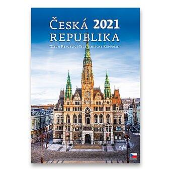 Obrázek produktu Nástěnný obrázkový kalendář Česká republika 2021 - 14 listů, 31,5 x 45 cm