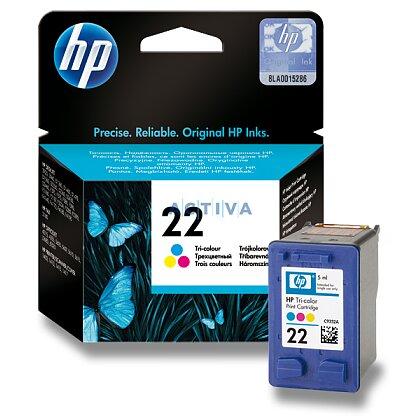 Obrázek produktu HP - cartridge C9352AE, color č. 22 (barevná) pro inkoustové tiskárny