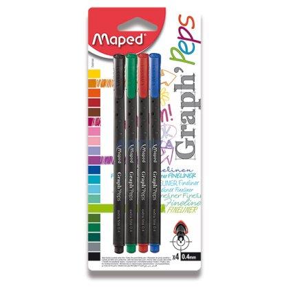 Obrázek produktu Maped Graph Peps - mikrofix - 4 barvy