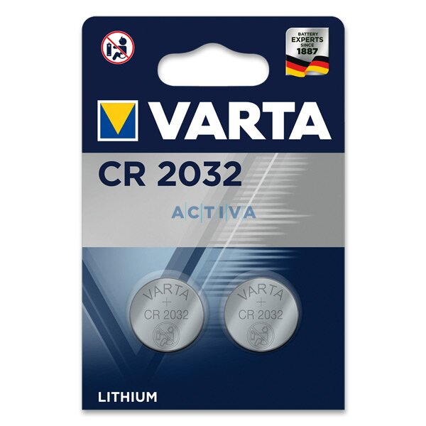 Varta Professional Electronic CR 2032, 230 mAh, 2 ks