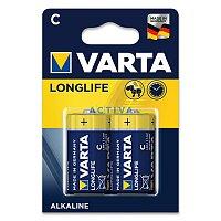 Alkalická baterie Varta Longlife typ C