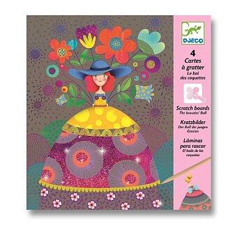 Obrázek produktu Vyškrabávací obrázky Djeco - Dámičky