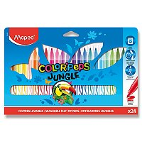 Dětské fixy Maped Color'Peps Jungle