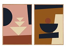 Plakát v dubovém rámu Rune Elmegaard Studio Formation