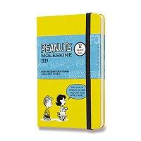 Diář Moleskine 2019 Peanuts, tvrdé desky