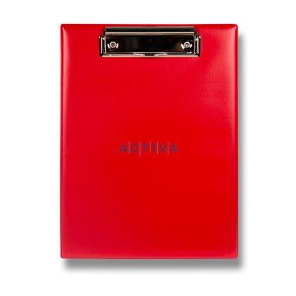 Product image PP Karton - jednodeska s klipem - A5, červená