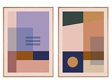Plakát v dubovém rámu Rune Elmegaard Studio Art Time