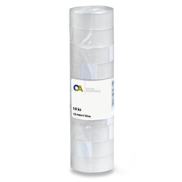Samolepicí páska 15 mm x 10 m, 10 ks