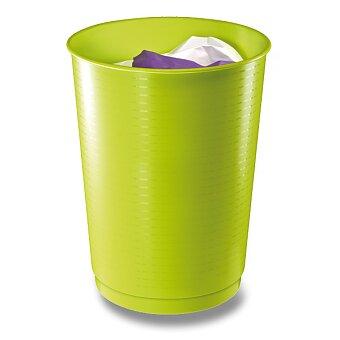Obrázek produktu Velký odpadkový koš CEP Pro Gloss - 40 l, zelený