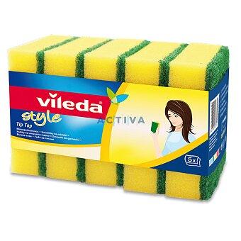 Obrázek produktu Houbička na nádobí Vileda Style Tip Top - 5 ks