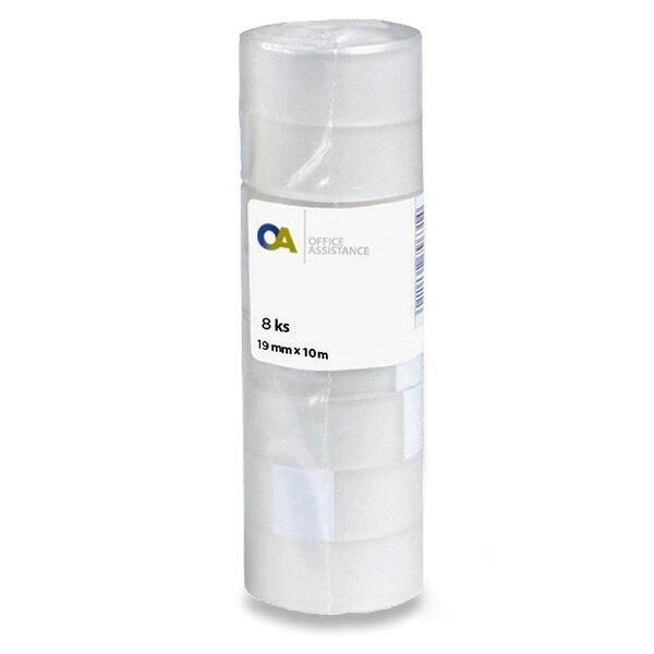 Samolepicí páska 19 mm x 10 m, 8 ks