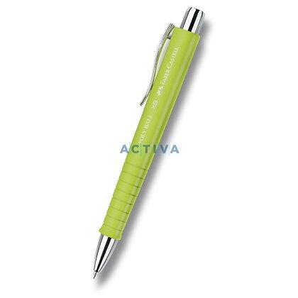 Obrázek produktu Faber-Castell Poly Ball XB - kuličková tužka - limetková