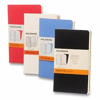 Obrázek produktu Notes Moleskine Volant - měkké desky - S, linkované, 2 ks, výběr barev