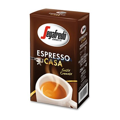 Obrázek produktu Segafredo Espresso Casa - mletá káva - 250 g