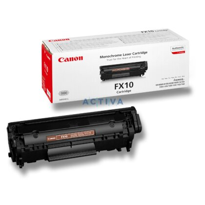 Obrázek produktu Canon - toner FX-10, black (černý) pro faxy