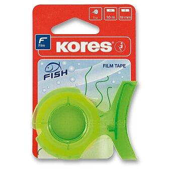 Obrázek produktu Samolepicí páska Kores Fish - 19 mm x 10 m