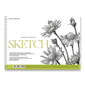 Obrázek produktu Skicák Shkolyaryk Muse Sketch - A4+, 50 listů