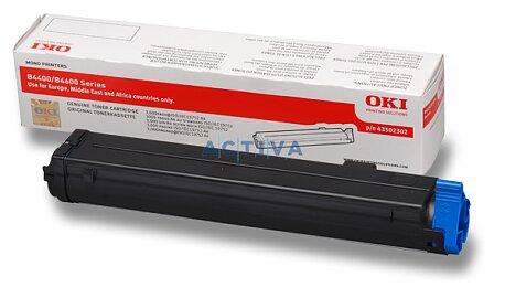Obrázek produktu Toner OKI B4400 / B4600  pro tiskárny a faxy - black (černý)