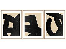 Plakát v dubovém rámu Rune Elmegaard Studio Intuition