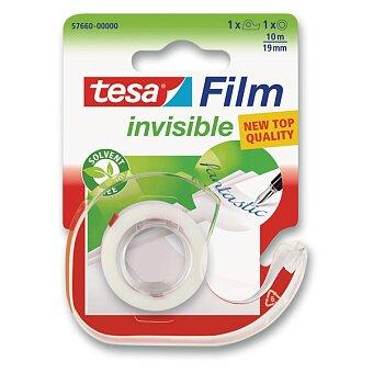 Obrázek produktu Samolepicí páska Tesa Film Invisible - 19 mm x 10 m, s odvíječem