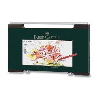 Obrázek produktu Popisovač Faber-Castell Pitt Artist Pen - dřevěná kazeta, 90 ks