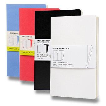 Obrázek produktu Notes Moleskine Volant - měkké desky - L, čisté, 2 ks, výběr barev