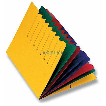 Obrázek produktu Pagna - třídicí desky s barevnými listy - 7 oddílů, žlutá