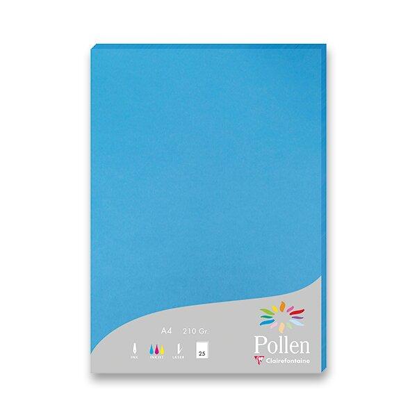 Barevná dopisní karta Clairefontaine modrá, A4