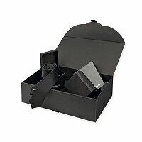 SANTINI LAMBERT SET - sada peneženky a kravaty v dárkové krabici