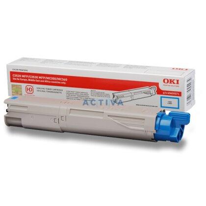 Obrázek produktu OKI - toner C3520, cyan (modrý) pro multifunkční zařízení