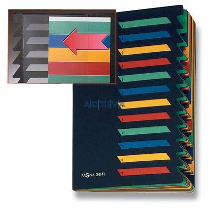 Obrázek produktu Pagna - stolní třídící kniha s možností popisu - 12 oddílů