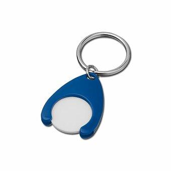 Obrázek produktu PORTHOS PLASTIC - plastový přívěsek - žeton vel. 0,50 €/ 10 Kč, výběr barev