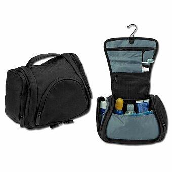 Obrázek produktu BUCK - polyesterová kosmetická taška, 600D, černá