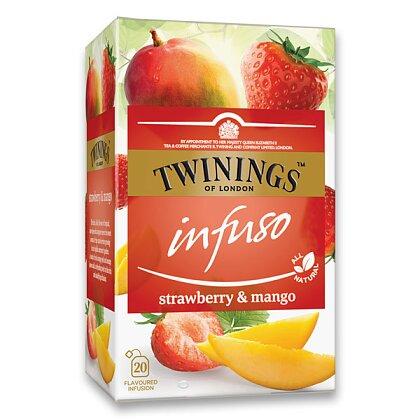 Obrázek produktu Twinings - ovocný čaj - Jahoda, mango, 20 ks