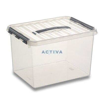 Obrázok produktu Helit Q-line - úložný box - 22 l, 300 × 400 × 260 mm