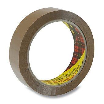 Obrázek produktu Balicí páska Scotch - 25 mm x 66 m, hnědá