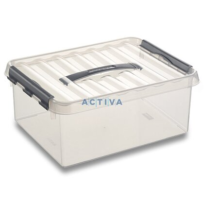Obrázok produktu Helit Q-line - úložný box - 12 l, 300 × 400 × 140 mm
